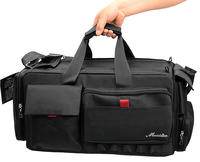 NEW Video DSLR Camera Bag Camera Lens Photograph Case For Canon Panasonic Sony JVC WRQ1012