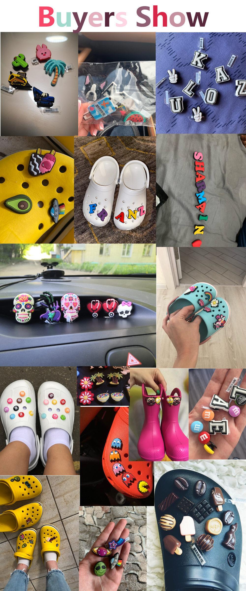 Decorações de sapato