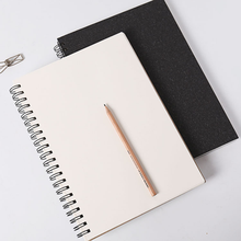 1pcs Sketchbook for Drawing Painting Black Memo Gift Paper Supplies Graffiti Book Office Soft Cover Pad Sketch Book Diary Book