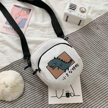 2021 Casual Small Bags Womens Cartoon Print Crossbody Bag Girls Little Shoulder Bag For Women Bolso Mujer Student Purses Bags