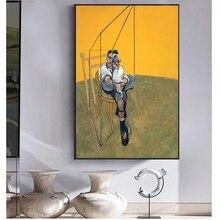 Фрэнсис бекон известный художник абстрактный герой холст живопись