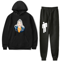 Women's Cotton Tracksuit Harm Sweat Pants and Hoodie Sets Billie Eilish Streetwe