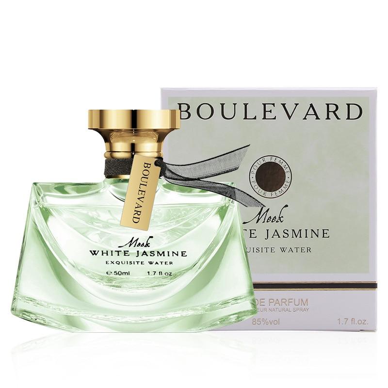 Jasmine Flower Fragrance Women's Parfum Long Lasting Bottle Glass Perfume Feminino Lady 50ml Body Spray Sweet Female WP42