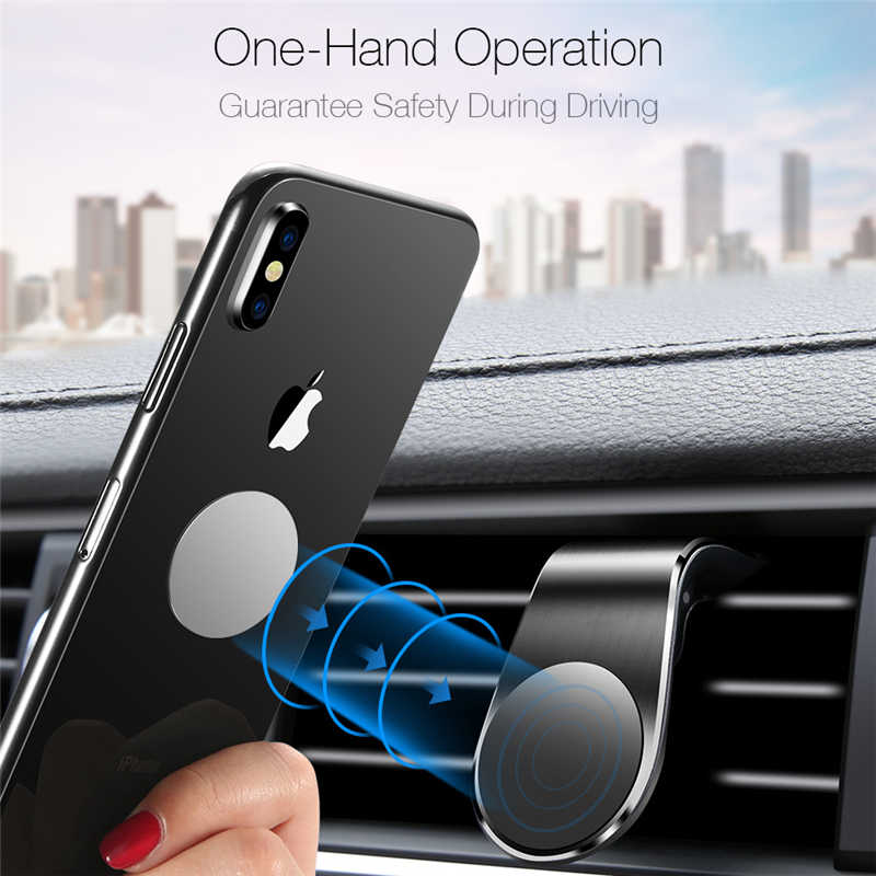 Support de téléphone magnétique pour voiture en métal pour Honda CRV Accord Civic Suzuki Grand Vitara Swift SX4
