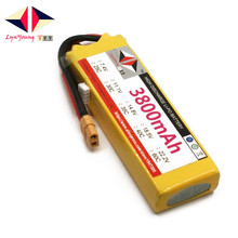 Rechargeable LYNYOUNG lipo battery 3800mAh 11.1V 25C 3S for RC Airplane Glider Quadrotor Helicopter Car