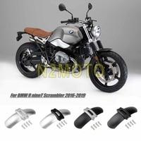 For BMW R NINE T Scrambler 2016 2019 R9T NineT Black Silver Motorcycle Aluminum Front Wheel Fender Mudguard Cover
