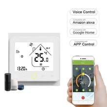 95-240V WIFI Smart Thermostat mit Alexa Google Home Programmierbare APP Control Gas Kessel Wasser Heizung Temperatur Controller