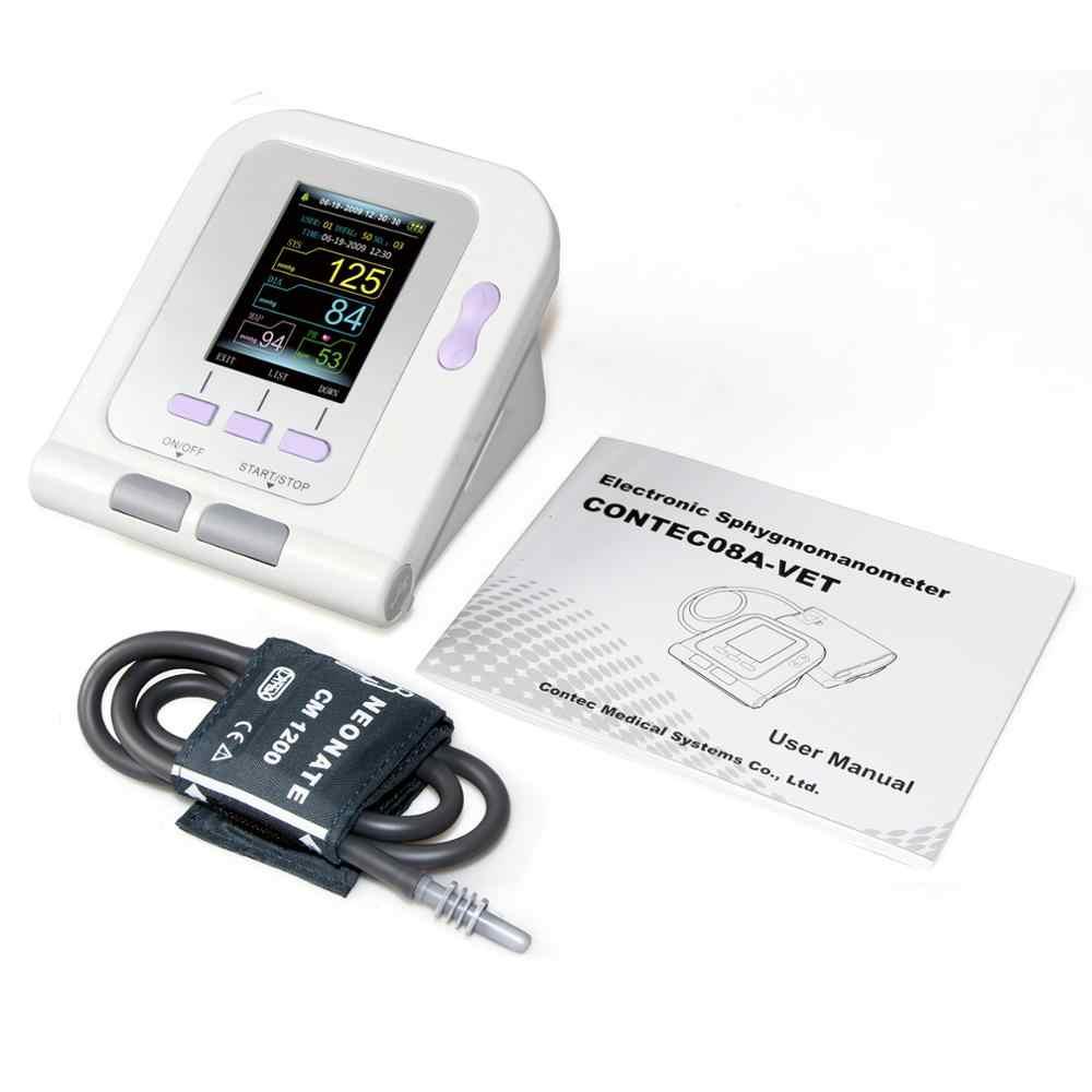 CONTEC08A-VET 디지털 수의 혈압 모니터 NIBP 커프, 개/고양이/애완 동물 (CONTEC08A-VET 3 커프스)