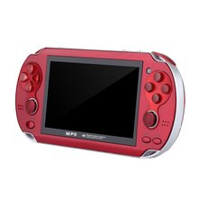 Mini Video Game Console for Playstation PSP Game Machine Double Joystick 4.3Inch Screen 8G Memory Video Camera MP4 цена