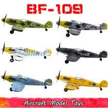 DIY Military Spitfire Kämpfer Modell Kits Spielzeug Für Kinder Montage Gebäude Flugzeug Diecast Pädagogisches Spielzeug Für Jungen Kinder Geschenk