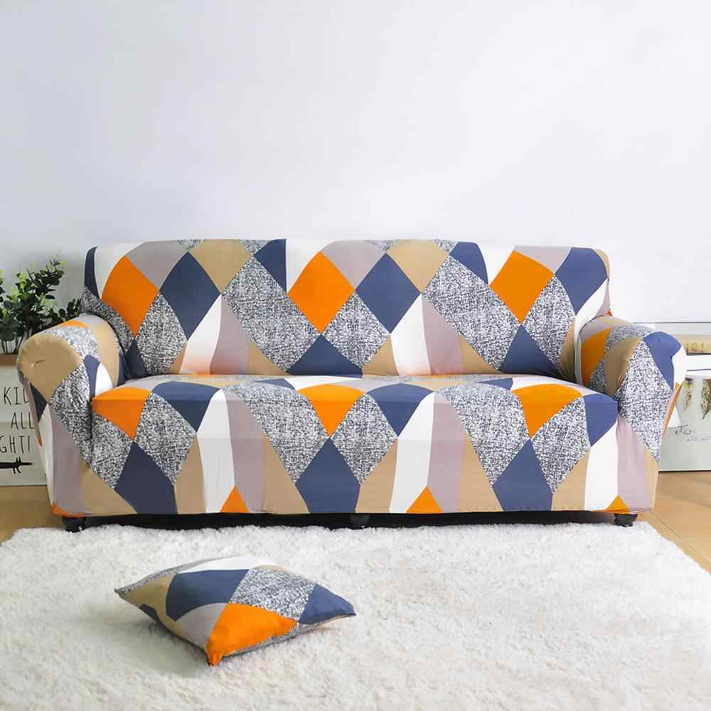 هندسية مرونة غطاء أريكة لغرفة المعيشة الحديثة أريكة من أقطاع الغلاف غطاء أريكة كرسي حامي 1/2/3/4 مقاعد
