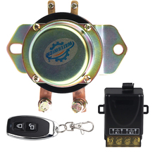Auto Batterie Isolator Schalter Auto Fahrzeug Elektromagnetische Rast Relais 100A 12v Fernbedienung Batterie Trennen Cut Off 10 15v