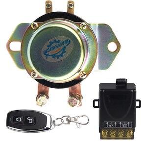 Image 1 - Auto Batterie Isolator Schalter Auto Fahrzeug Elektromagnetische Rast Relais 100A 12v Fernbedienung Batterie Trennen Cut Off 10 15v