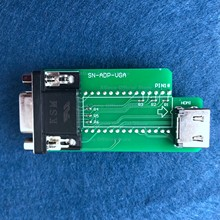 Adpter vga apenas para xgecu t56 programador suporte interface vga hdmi-compatível