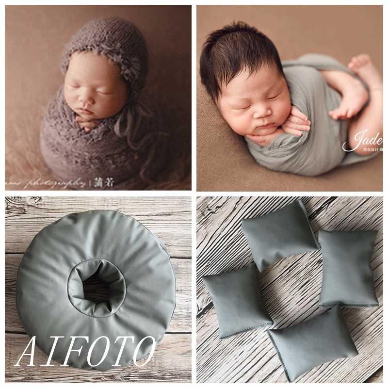 Berpose Bean Bag Latar Belakang Stand Foto Menembak untuk Bayi Baru Lahir Fotografi Alat Peraga Aksesoris Bayi Photoshoot Beanbag Fotografi Studio