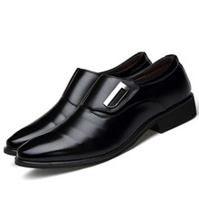 Dwayne Luxury Brand Men Shoes England Trend Leisure Leather