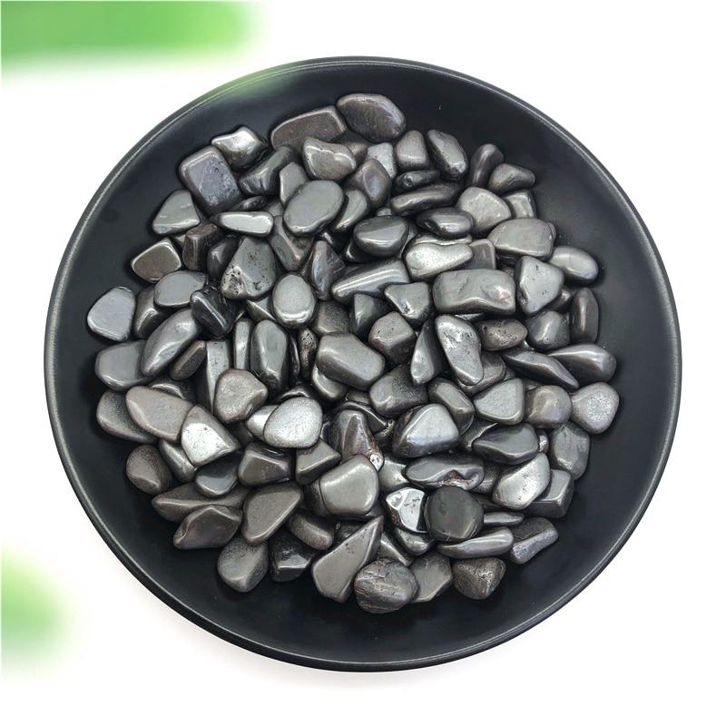50g hematite natural caiu pedras de cristal polido reiki cura decoração pedras naturais e minerais