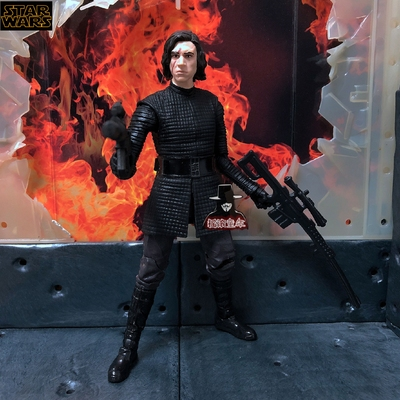 6 Inch Hasbro Starwars Kylo Ren Imperial Stormtrooper Anime Action & Toy Figures Model Toys For Children