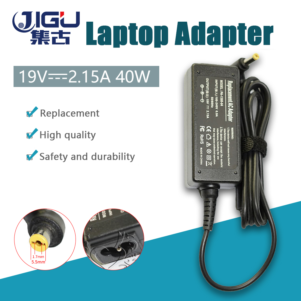 Replacement For Acer <font><b>19V</b></font> 2.15A 5.5*1.7MM 40W Universal <font><b>Notebook</b></font> Laptop AC Charger Power <font><b>Adaptor</b></font> free shipping image