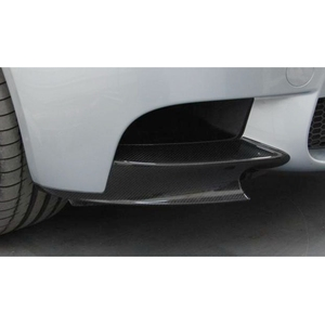 Image 4 - Брызговики для переднего бампера, для BMW 3 Series E92 E90 E93 Real M3 Sedan купе 2007 2013, Углеволокно/FRP