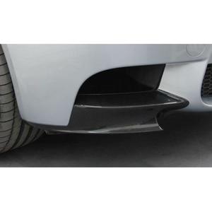 Image 4 - Front Lip Splitter Flaps für BMW 3 Serie E92 E90 E93 Echt M3 Limousine Coupe Cabrio 2007 2013 carbon Faser/FRP