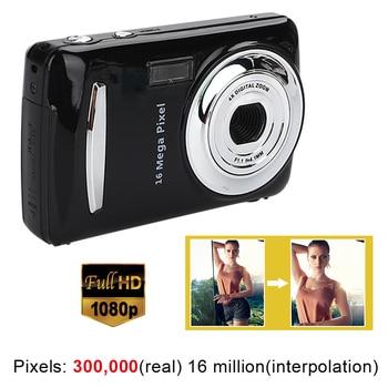 Ultra cámara fotográfica 16MP Ultra-clear HD cámara Digital DVR 1080P Mini HD cámara de vídeo preciso cámara grabadora DVR negro