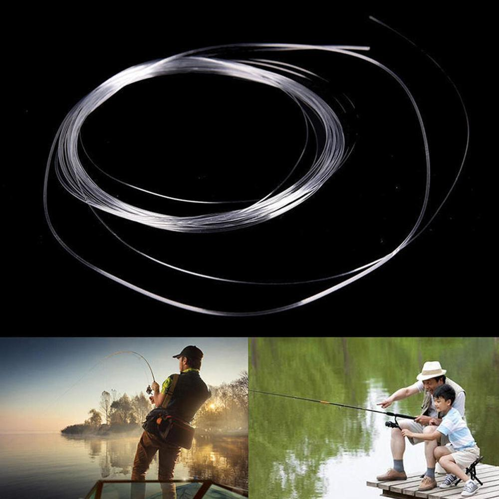 10 Pieces Tapered Leader Fly Fishing Line 9ft / 12ft 15ft 0X-7X Nylon Clear