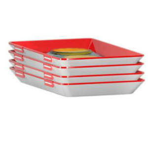 Organizer Tray Storage-Container Food-Preservation-Tray Stackable Kitchen-Tool Palstic