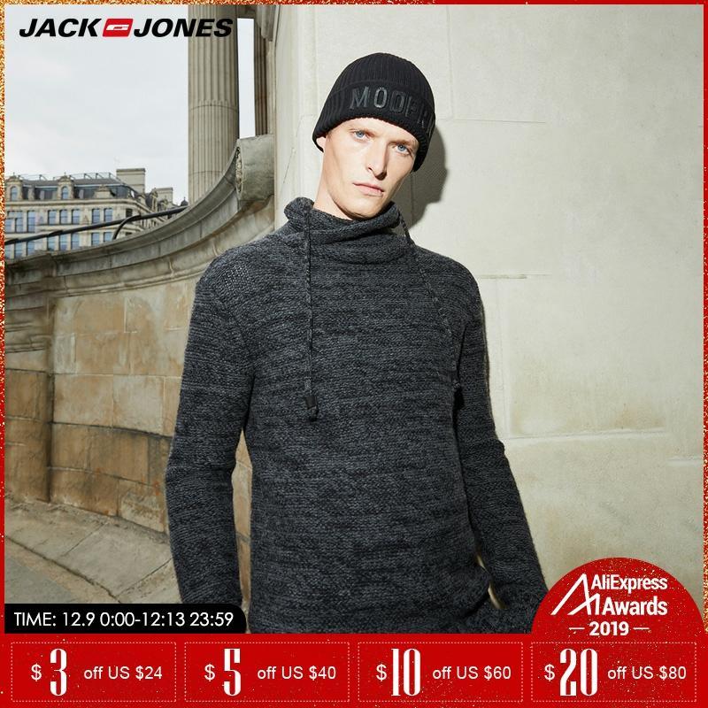 Jack Jones Men Thicken Autumn Winter Pullover  Turtle Neck Sweater |218325508