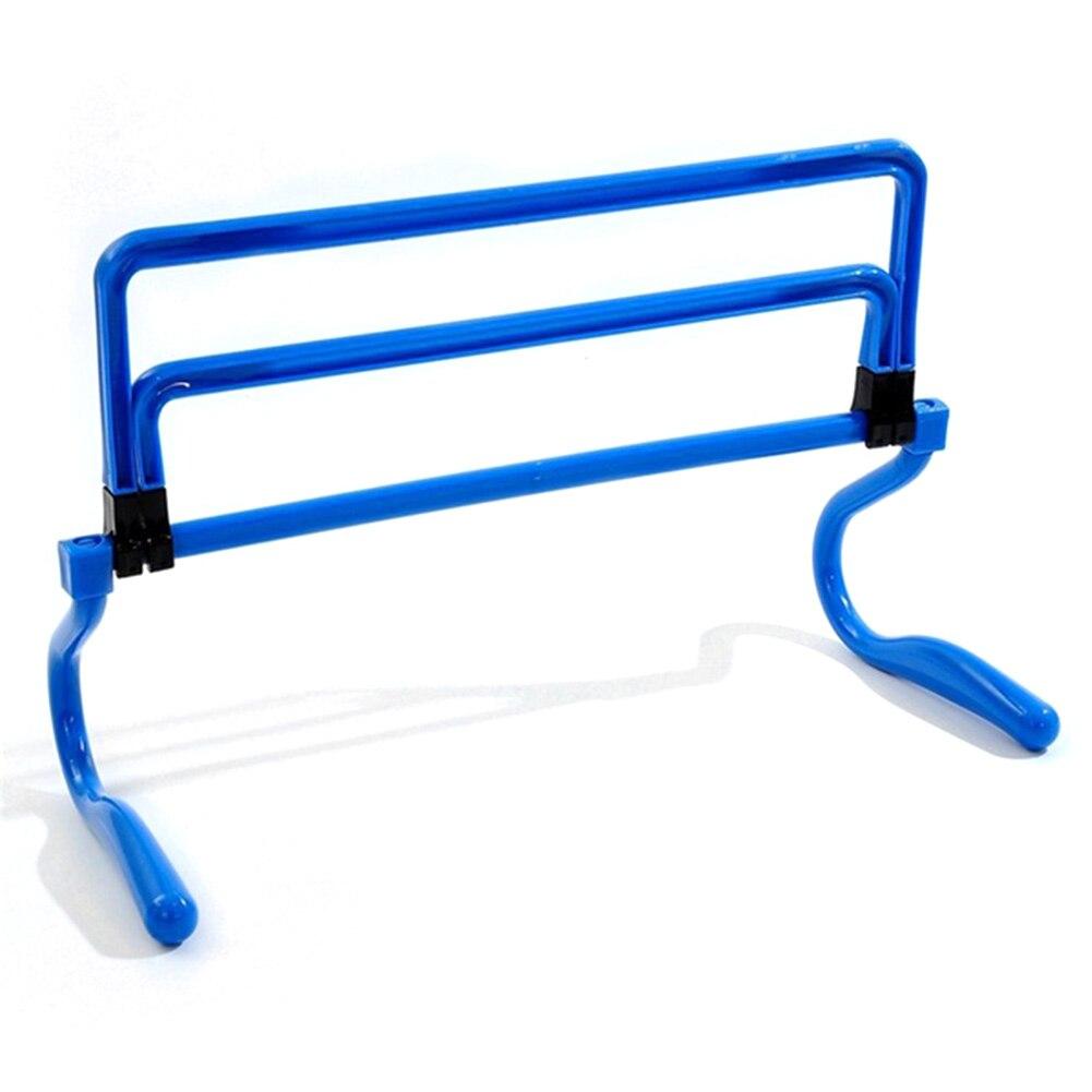 Football Soccer Barrier Frame Training Equipment Football Mini Hurdle Remover Able For Jump Running Sensitive