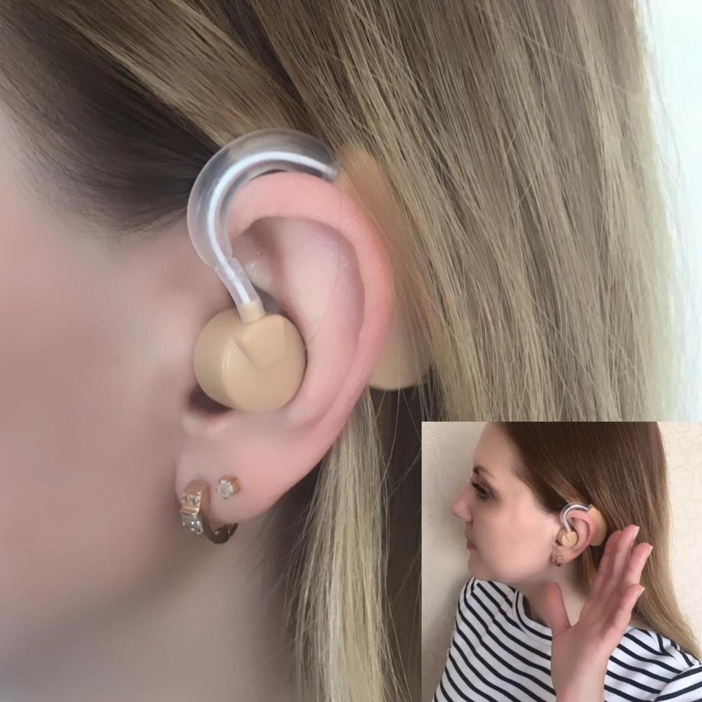Image 3 - 1 Pcs Hearing Aid Sound Voice Amplifier Hear Clear Mini Device Volume Hearing Enhancement for the Elder Yonung Deaf Aids Care-in Hearing Aids from Beauty & Health