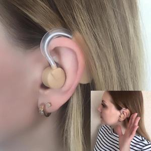 Image 2 - 1 個補聴器のサウンド音声アンプ聞くクリアミニデバイスボリューム聴覚強化のため長老 Yonung ろう者エイズケア