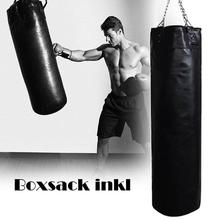 Boxing Sandbags Punch Bag with Heavy Duty Steel Chain for Home Outdoors Gym Training Pressure Relief цена