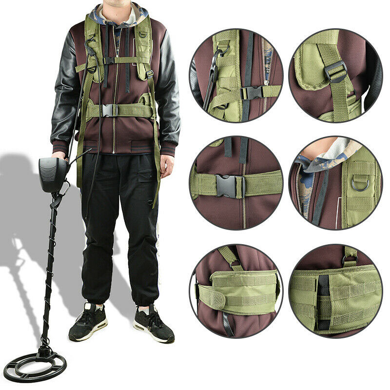 Universal Metal Detector Generic Detecting Harness Sling For Detector Pro Swing With Girdle ING-SHIPPING