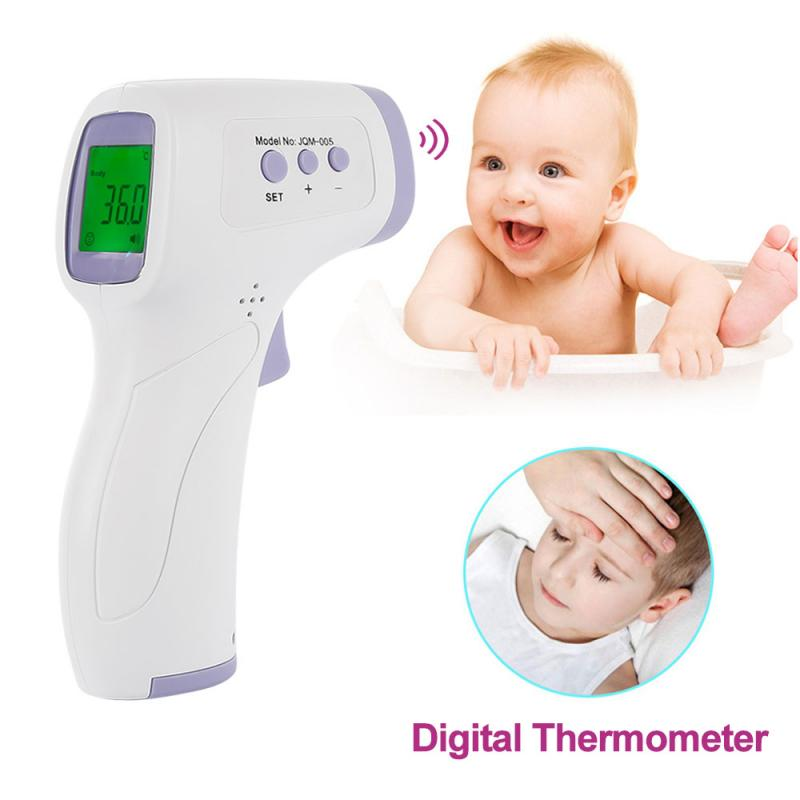 Baby/Adult Digital Infrared Thermometer Non-contact Forehead Ear Body Thermometer Gun Adult Body Fever IR Measurement Device