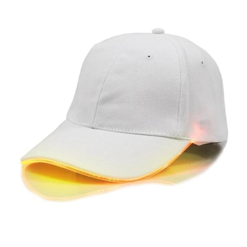 Baseball-Cap Operation-Light-Cap Sports-Cap Running Outdoor LED Adjustable