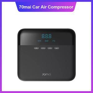 Image 1 - Original 70mai Air Compressor Lite Fast Inflatable Pump Tire Inflator 12V Portable Electric Digital Air Pump for Car Motorcycles
