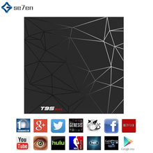 Android 9.0 TV Box 4GB 32GB 64GB T95 Max Smart TV BOX Allwinner H6 Quad Core 6K HDR 2.4GHz Wifi Google Player T95MAX Set Top Box h96 mini android 9 0 tv box 4gb 64gb allwinner h6 quad core 6k h 265 wifi bluetooth youtube 4k set top box smart 4gb 32gb tv box