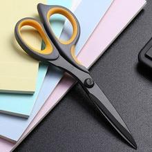 Anti vara ferrugem tesoura de corte de papel do escritório em casa tesoura de aço inoxidável costura tesoura tecido roupas ferramenta