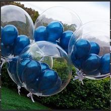 9 предметов + комплект + латекс + 20 дюймов + прозрачный ++ Bobo ++ воздушный шар ++ комплект + день рождения + вечеринка + исповедь + макет + свадьба + украшение