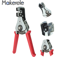 Automatic Crimper Cable Cutter Wire Stripper Multifunctional Stripping Tools Crimping Pliers Terminal Tool
