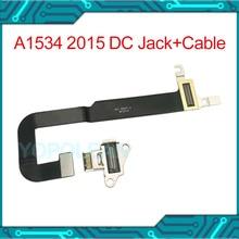 """DC IN I/O USB C Power Dc Jack Board Connector Met Kabel 821 00077 A Voor Macbook Retina 12 """"A1534 2015 jaar"""