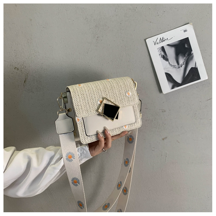 Women's clamshell leisure bag new fashion shoulder messenger female bag wild 2020 small square bags