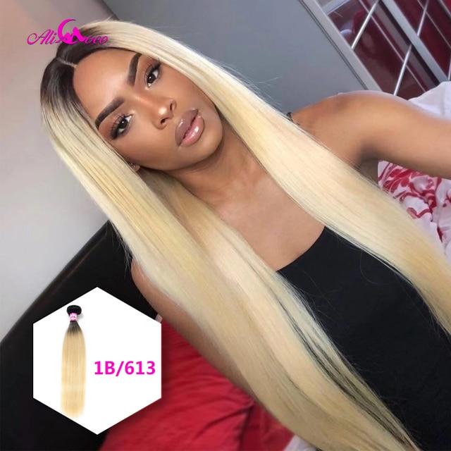 Ali Coco Peruvian Straight Hair 8-30 inch 1/3/4 Bundles Hair Natural #2/#4/ #613/ Human Hair Bundles Non Remy Hair Extensions 5