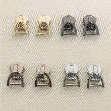 Fashion 5# Metal Zipper head Zipper lightning Repair Kits Zipper Pull for Zipper Slider DIY Sewing Craft sewing Kits