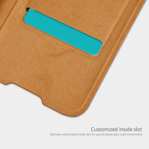 Image 4 - For OnePlus 8 Case NILLKIN PU Flip Smart Case For OnePlus 8 Pro Cover Wallet Leather Case