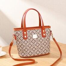 2020 moda Crossobdy kadın PU deri küçük çanta marka tasarımcısı bayan el çantası omuz kadın Mini Tote fermuarlı çantalar