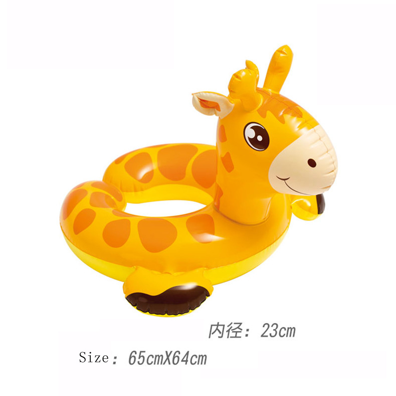 Inflatable Animal Giant Horse Swam Inflatable Kid Ride-on Outdoor Children Toy Float Inflatable Swan Ring Summer Holiday Water
