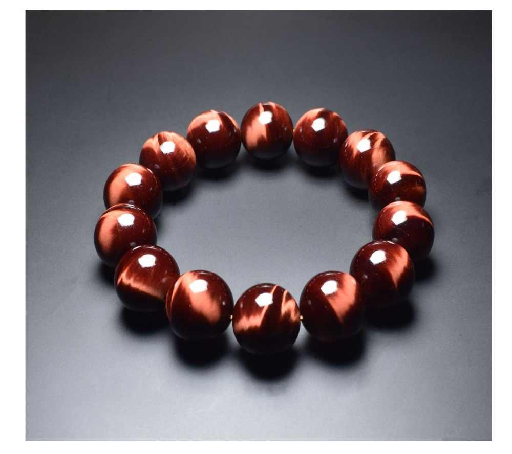 BOEYCJR AA Red Tiger Eyes Natural Stone Beads Bangles & Bracelets Handmade Jewelry Energy Stone Bracelet for Women or Men  2019