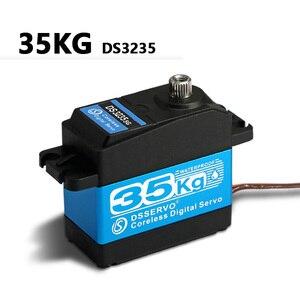 Image 2 - 35kg 고 토크 코어리스 모터 서보 ds3135 메탈 기어 및 ds3235 stainlesssg 로봇 diy, rc 카용 방수 디지털 서보